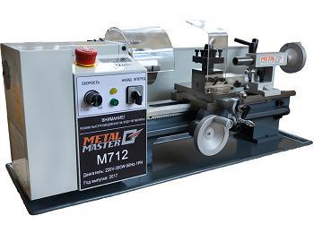 Токарный станок MetalMaster M712